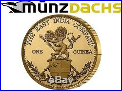 1.05 Pounds One Guinea East India Company St. Helena UK Gold 2012 only 105