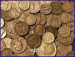 1/2 Troy Pound Old U. S. Mixed Silver Coins Lot-No Junk-Price Drop See Promo