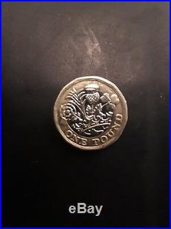 1 EinPfund One Pound Münze Aus England 2017 super Zustand 220 Euro Vb