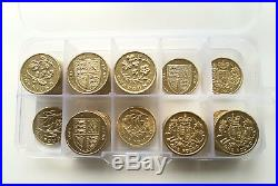 £1 Full Set Of 43 One Pound Coins In Lighthouse Coin Album