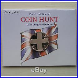 £1 (ONE POUND) COMPLETER MEDALLION Medal The Great British Coin Hunt FREEPOST