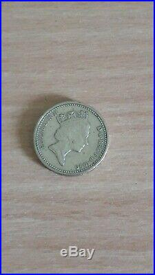 £1 ONE POUND ODD BRITISH COIN (see all pictures)
