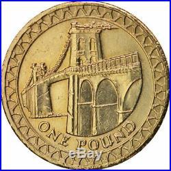 £1 One Pound Coin Menai Bridge Wales 2005