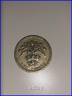 £1 One Pound Rare British Coin, 1984 Uncirculated
