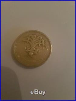 £1 One Pound Rare British Coins, Coin Hunt 1983-2015