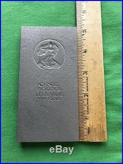 1 (One) Pound Titanium Bullion Bars. 999 Fine Investment Grade Ti. 16 oz