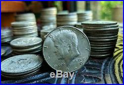 1 One Standard Pound of JUNK SILVER 1965 to 1969 Kennedy Half Dollar Coin Lot