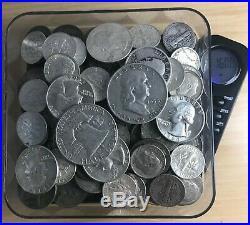 1 One Troy Pound LB US Silver Coins NO JUNK Pre-1965 HALF DOLLAR QUARTERS DIMES