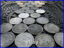 1 One Troy Pound of Better Detail Silver Morgan Dollars (Pre Cull Coin Lot)
