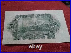 £1 Pounds 1931. Plowman SUPERB IN SELDOM SEEN QUALITY SCARCE BANKNOTE EIRE