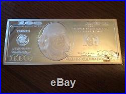 $100 Silver Proof One Quarter-Pound 4 troy oz. 999 Bar Washington Mint 1996