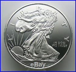 12 oz Silver Round. 999 Fine STANDING LIBERTY 1987 One Pound