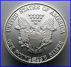 12 oz Silver Round. 999 Fine STANDING LIBERTY 1992 One Pound
