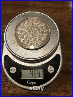 14.6 Troy Ounces One AVDP Pound 999 Silver Round Presidential Proof