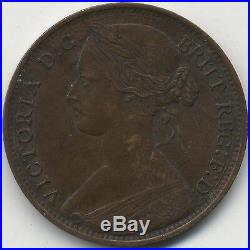 1861 Victoria One Penny British Coins Pennies2Pounds