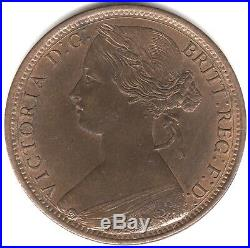 1866 Victoria One Penny British Coins Pennies2Pounds