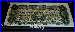 1927 C0A One Pound Note Riddle\Heathershaw EF-aUNC