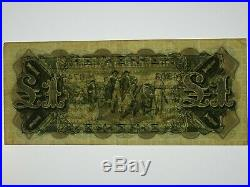 1927 One Pound Riddle / Heathershaw Banknote in Fine Condition