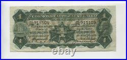 1927 Riddle Heathershaw One Pound George V Banknote J-26 L-435