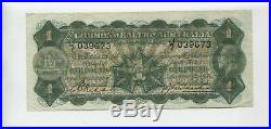 1927 Riddle Heathershaw One Pound George V Banknote J-7 L-421