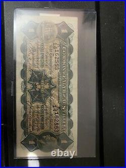 1927 Riddle/Heathershaw one pound £1 Banknote