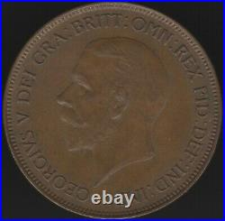 1932 George V One Penny Coin British Coins Pennies2Pounds