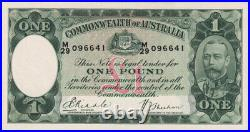 1933 R28 One Pound Riddle/Sheehan good EF