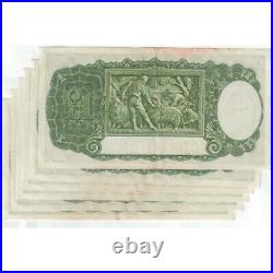 1948 Australia R. 31 One Pound Coombs/Watt Consecutive run of 6 Banknote