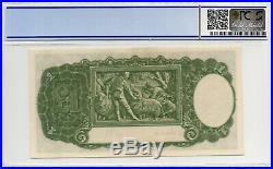 1949 AUSTRALIAN ONE POUND NOTE PICK#26c COOMBS/WATT PCGS 58 aUNC with15 507540