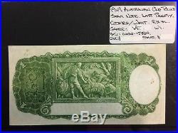 1949 Australian One Pound STAR note Coombs/Watt Last Prefix VF