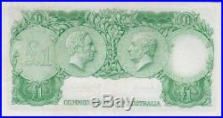 1961 One Pound Star Note Coombs/Wilson R34BS good VF