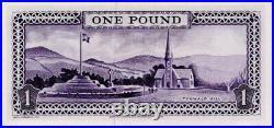 1970 Isle of Man £1 One Pound Banknote signed P. H. G. Stallard P25b UNC