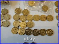 1983-2016 A Joblot Collection of 151 Rare £1 Circulated One Pound Coins