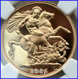 1985 Gold Proof Double Sovereign £2 Two Pound NGC PF70 Great Britain Royal Mint