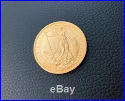 1987 Royal Mint British Britannia £100 One Hundred Pound Gold Coin 1oz