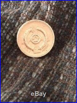 1996 Northern Ireland Celtic Cross £1 One Round Pound Coin Circulated