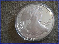 1996 One Troy Pound Silver Eagle Limited Edition Commemorative Coin