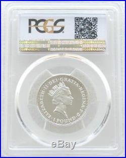 1997 British Royal Mint Britannia £1 One Pound Silver Proof Coin PCGS PR70 DCAM
