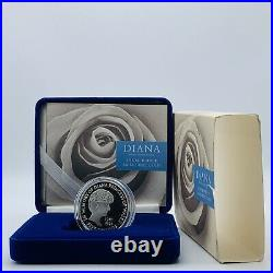 1999 Royal Mint Princess Diana Memorial Silver Proof £5 Five Pounds Crown Coin