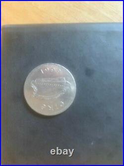 1999 ireland irish £1 coin 1 pound one punt eire coin