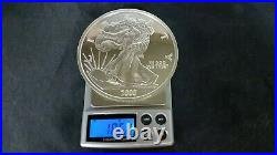 2000 Giant Liberty-eagle One Half Troy Pound. 999 Pure Silver Coin