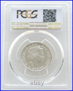 2001 Royal Mint British Britannia £1 One Pound Silver Proof Coin PCGS PR69 DCAM