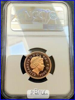 2004 Royal Mint UK Gold Proof Forth Bridge £1 One Pound NGC PF69 Ultra Cameo