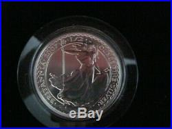 2007 Britannia Silver-Proof Six Coin One Pound Collection (Boxed)