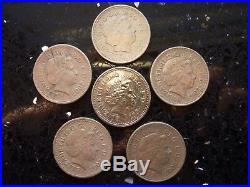 2007 One Pound Coin £1 Error Millennium Bridge James Bond 007 Mule Fake