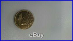 2009 Gibraltar Neanderthal Skull One Pound £1 coin
