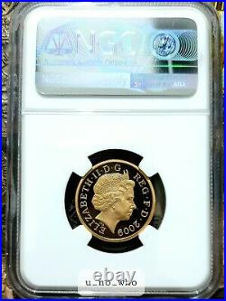 2009 Royal Mint UK Gold Proof Shield of Arms £1 One Pound NGC PF70 19.619g 22ct