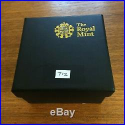 2010 Gold Proof One Pound Belfast, 19.619g, Solid 22ct, Original Boxes & Cert