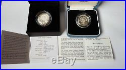 2010 Uk London £1 One Pound Silver Proof Coin Box And Coa