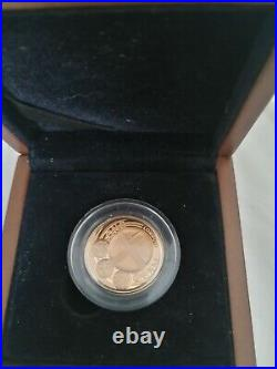 2010 United Kingdom Gold Proof £1 One Pound Coin City of London 19.629 g